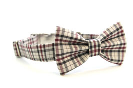The Prep Chrome Collar, Bow Tie & Leash Set