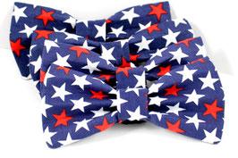 Pawtriotic II Bold Blue Bow Tie
