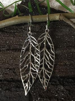 Ohrringe 'Blätter', 925 Sterlingsilber OR 036