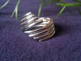 Damenring offen aus 925 Sterling Silber, R 016