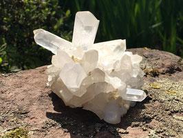 Bergkristall Stufe, naturbelassen M-027
