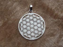Anhänger 'Blume des Lebens' Medallion aus 925 Silber AHS 004