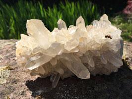 Bergkristall Stufe, naturbelassen M-040