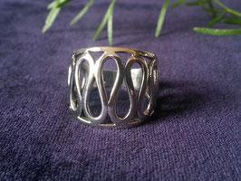 Damenring aus 925 Sterling Silber, R 018