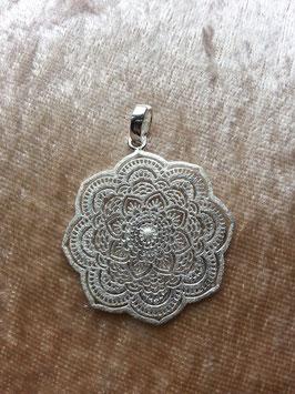 Anhänger 'Mandala' aus 925 Silber AHS 012