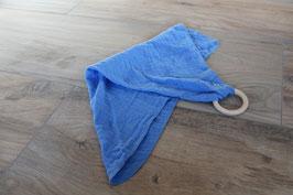 Schmusetuch blau mit/ohne Namen
