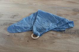 Schmusetuch rauchblau mit/ohne Namen