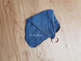 Schmusetuch dunkelblau mit/ohne Namen
