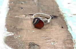 Ring rund orange/rot Schichten