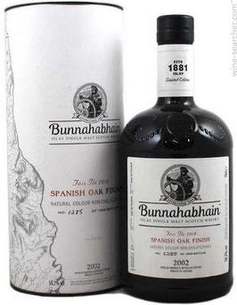 Bunnahabhain 2002 Feis Ile 2018 Spanish Oak Finish