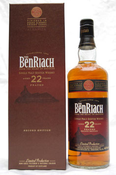 Benriach 22 Jahre peated Albariza PX Sherry Cask Finish Second Edition