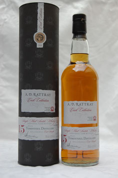 Tomintoul 15 Jahre 1999 by A.D. Rattray Cask Strength