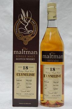 Clanelish 18 Jahre 1997 Maltman