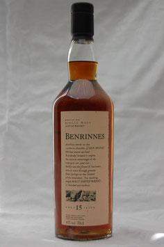 Benrinnes 15 Jahre Flora&Fauna 43%