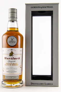 Mortlach 25 Jahre Destillery Label Gordon & MacPhail