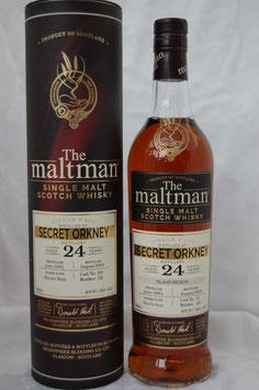Secret Orkney 24 Jahre 1995 Maltman
