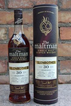 Glenrothes 30 Jahre 1990 Maltman 46,9%