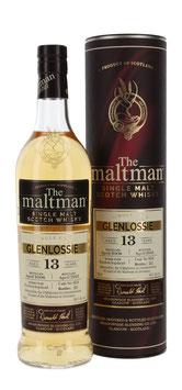 Glenlossie 13 Jahre 2008/2021 Maltman 54,1%