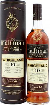 A Highland 10 Jahre 2010 Maltman 54,8%