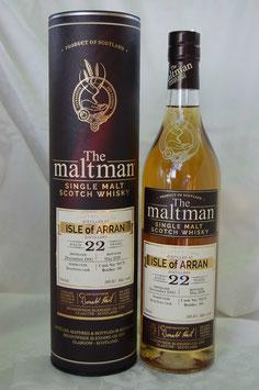 Isle of Arran 22 Jahre 1995 Maltman