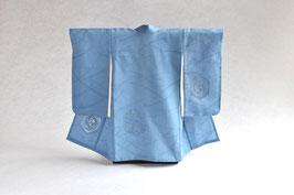 掛こべべ 〜涼み〜「水色紋紗 スワトウ刺繍」