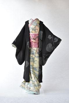 「黒紋付(羽織)」夢こべべ