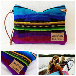 CLUTCH (rayas colores)