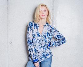 EMILY | Bluse frische Blautöne