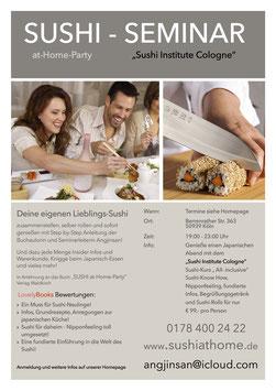 Sushi-Seminar-Ticket