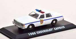 "Chevrolet Caprice 1980 ""Punxsutawney Police Groundhog Day weiss / blau"""