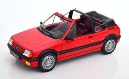 Peugeot 205 CTI 1986-1990 rot / schwarz