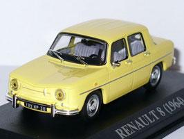 Renault 8 Berline 1962-1973 gelb