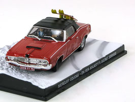 Mercury Cougar Convertible 1966-1970 rot James Bond Edition 007