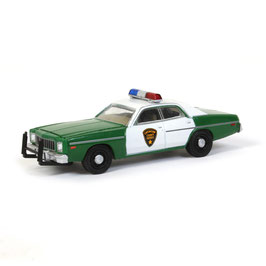 "Plymouth Fury 1975-1978 ""Chicksaw County Sheriff dunkelgrün / weiss"""
