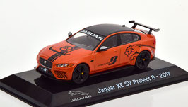 Jaguar XE SV Project 8 2017 orange met. / schwarz