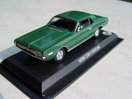 Mercury Cougar Coupé 1967-1968 grün
