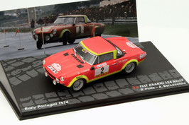 Fiat 124 Abarth Spider #2 Rally Portugal 1974 R. Pinto / A. Bernacchini