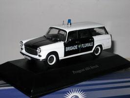 "Peugeot 404 Break 1960-1971 ""Police France / Brigade Fluviale schwarz / weiss"