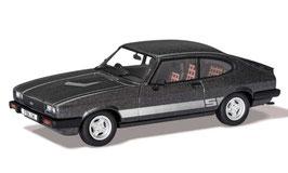 Ford Capri MK III 3.0S 1978-1982 RHD dunkelgrau met. / silber
