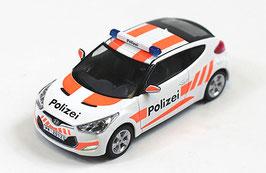 Hyundai Veloster Polizei Schweiz (CH)  seit 2011 weiss / orange