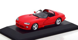 Dodge Viper Roadster 1992-2002 rot