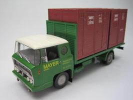 """Bernard 19A-19DA Container LKW 1961 """"Mayer Nancy"""" grün / braun"""