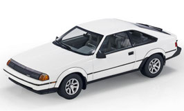 Toyota Celica III GTS Liftback 1984 weiss / schwarz