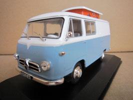Borgward B 611 Hymer Caravano 3 1959-1962 weiss / hellblau