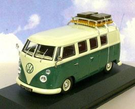 """VW T1c Bus Kombi 1963-1967 dunkelgrün / weiss """"1500 SP Devon Caravette RHD"""""""