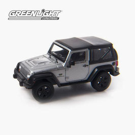 Jeep Wrangler Special Version 2012 silber met. / Softtop schwarz