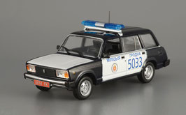 """Lada / VAZ-2104 Kombi 1979-2012 """"Police Belarus"""" schwarz / weiss"""