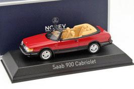 Saab 900 Turbo 16 Cabriolet 1986-1994 rot