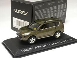"""Peugeot 4007 2007-2012 """"Holland & Holland"""" dunkelgrün met."""