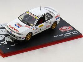 "Subaru Impreza 555 #4 Rally Monte Carlo 1996 B. Béguin / ""Tilber"""